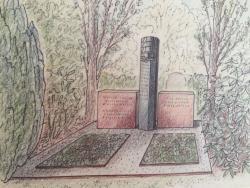 Zeichnung des Meisterstücks von Matthias Herzog